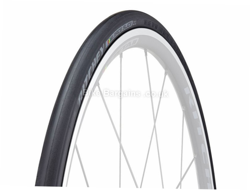 Ritchey Comp Race Slick Tubular Road Tyre 700c, 21c, Black, 270g, 290TPI