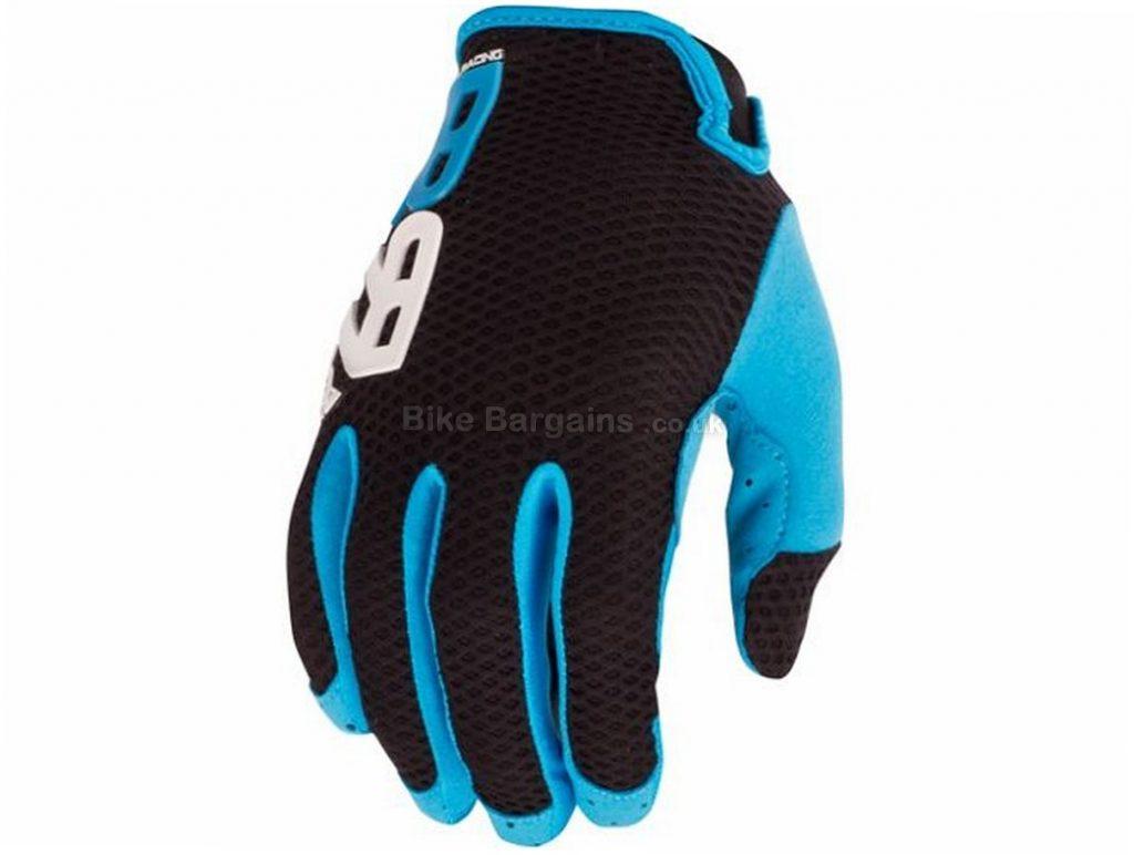 Royal Quantum MTB Full Finger Gloves 2017 XS,S,M,L,XL,XXL, Black, Blue, Red, Full Finger, Polyester