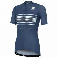 Sportful Ladies Stripe BodyFit Team Short Sleeve Jersey