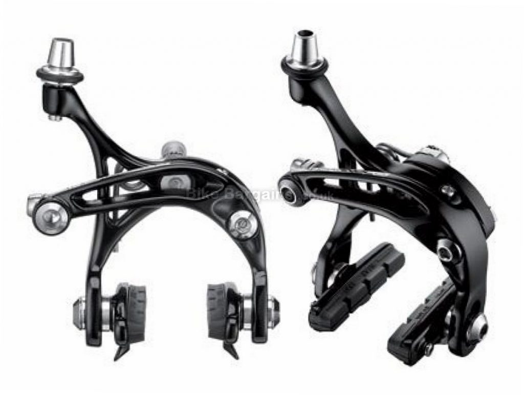 Campagnolo Veloce-D Skeleton Road Brake Calipers Alloy, Black, Pair, 321g