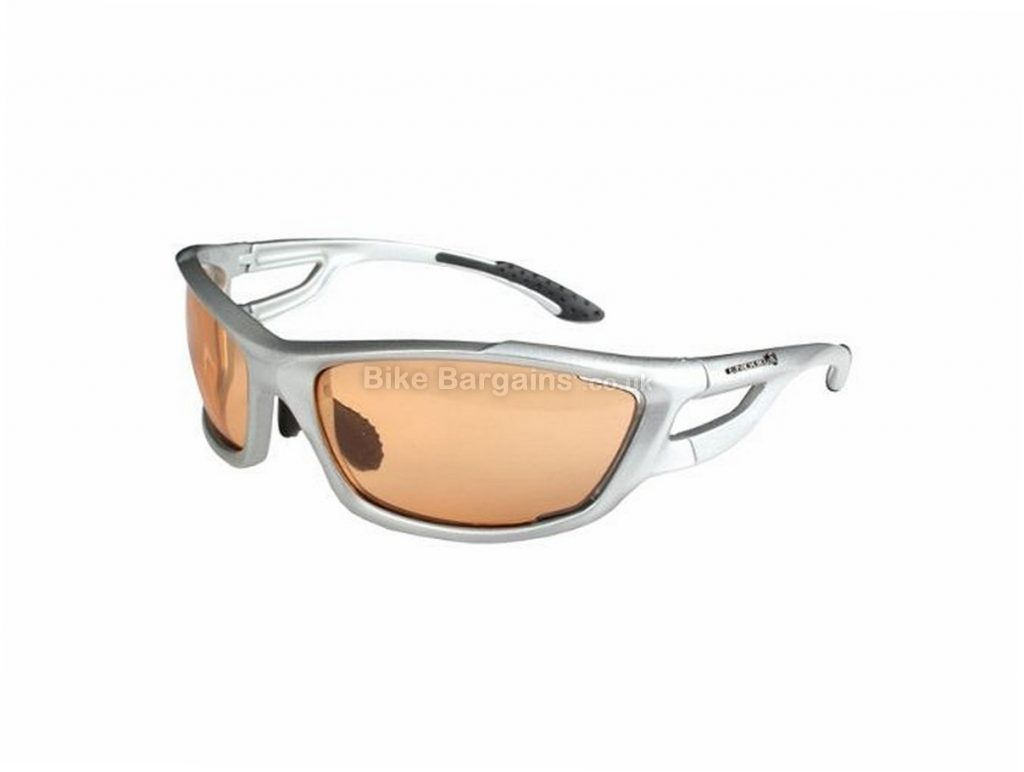 Endura Masai Bike Sunglasses Silver, anti fog, TR90 frame