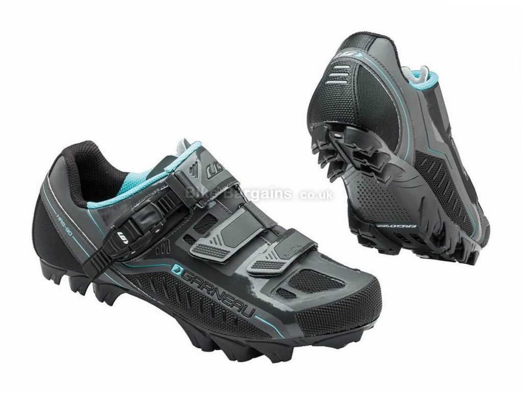 Louis Garneau Ladies Mica MTB Shoes 37, Grey
