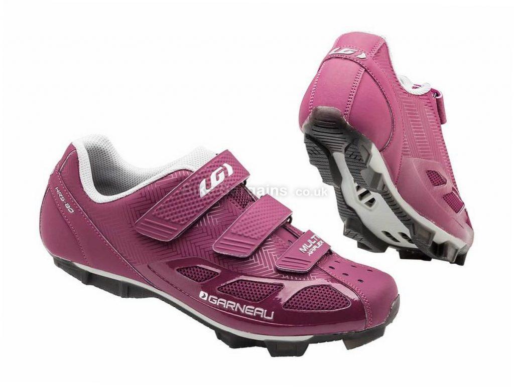Louis Garneau Ladies Multi Air-Flex Shoes 37,38, Purple, 280g