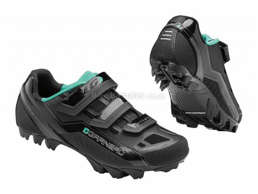 Louis Garneau Ladies Sapphire MTB Shoes 37, Black