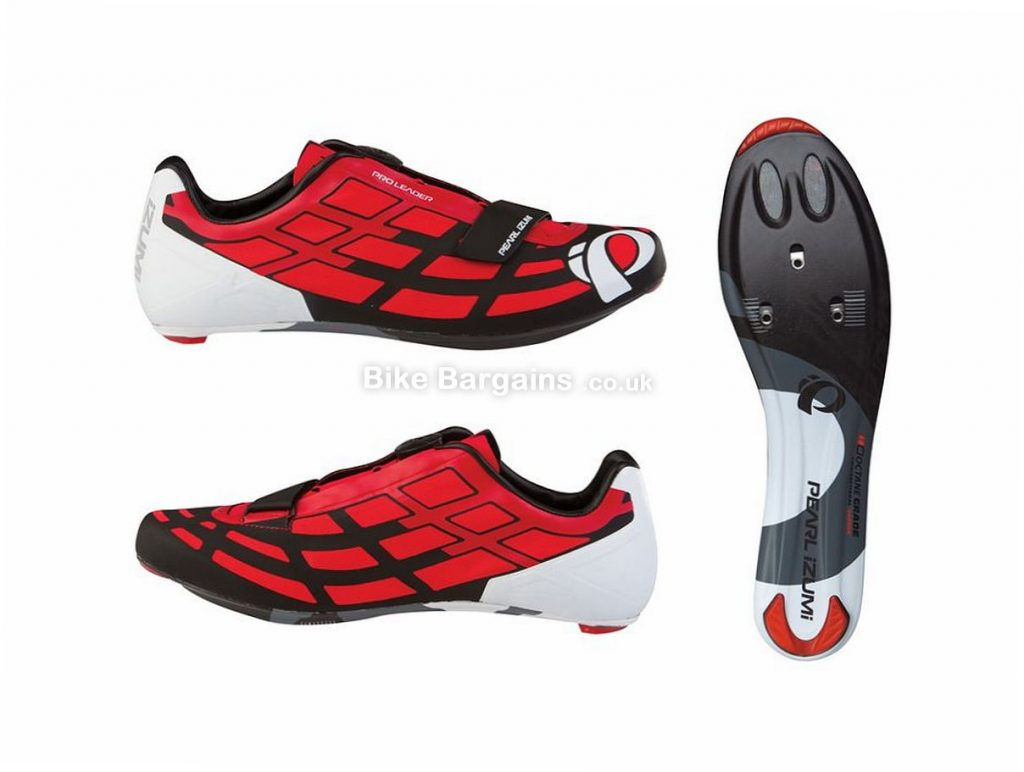 Pearl Izumi Pro Leader 2 Carbon Road Shoes 42, Red, Black, 245g