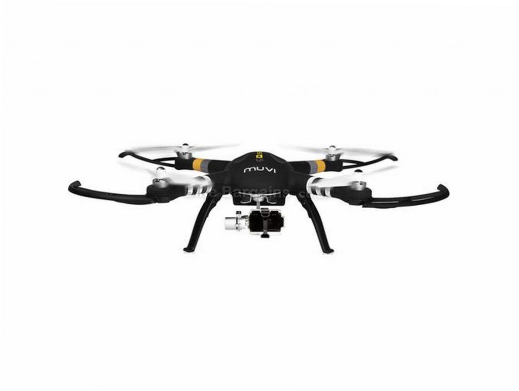 Veho Muvi 3D Gimbal Follow Me Drone 2017 Black, no camera, 700m data transfer, 20 minutes flight time