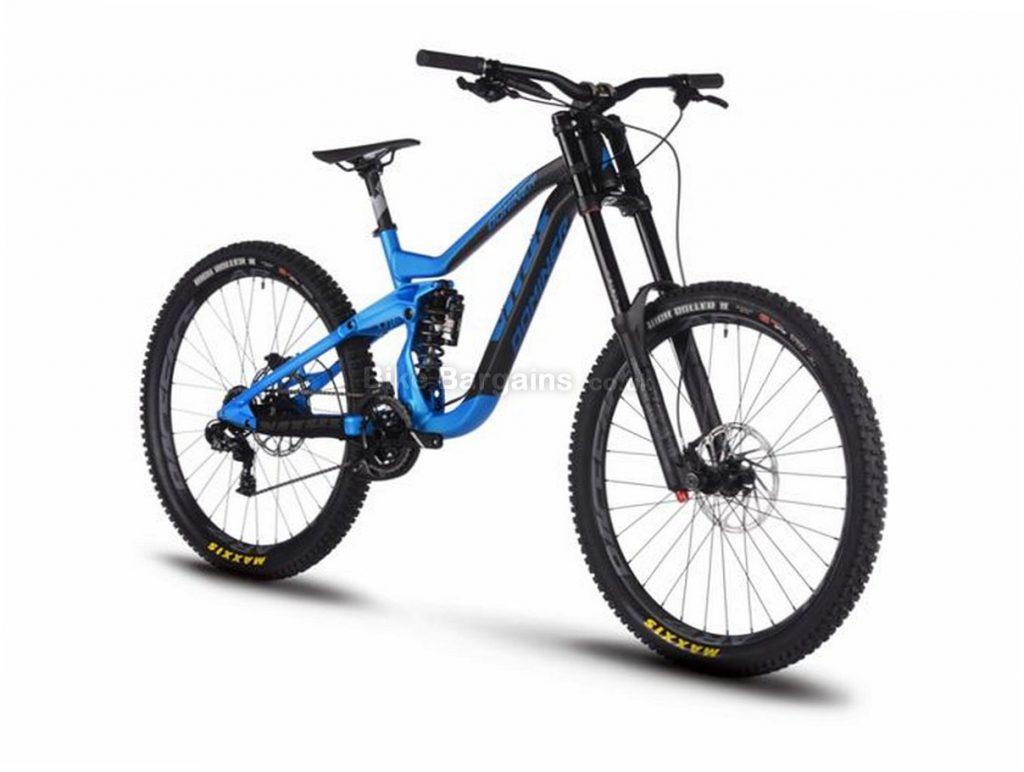 "Vitus Dominer DH SRAM GX Downhill 27.5"" Alloy Full Suspension Mountain Bike 2018 27.5"", 15"", Blue, Black, 11 Speed, Alloy, 200mm"