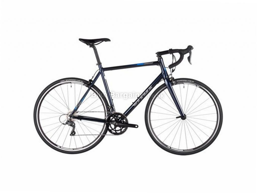 Vitus Razor Claris Alloy Road Bike 2018 54cm,56cm, Black, Blue, Alloy, Calipers, 8 speed, 700c, 10.3kg