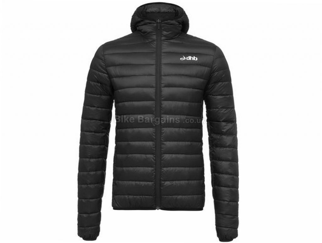dhb Down Casual Jacket S,L, Black
