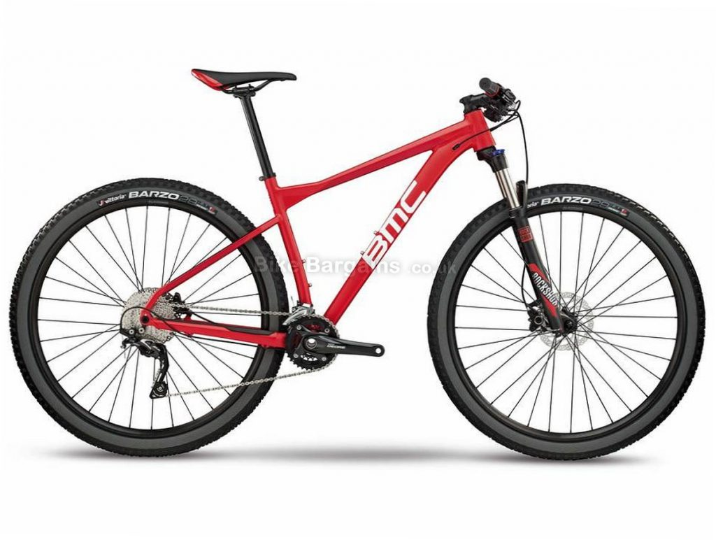 "BMC Teamelite 03 Three 29"" Deore Alloy Hardtail Mountain Bike 2018 S, Red, Black, 29"", Alloy, 10 Speed"