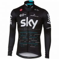 Castelli Team Sky Thermal Long Sleeve Jersey 2017