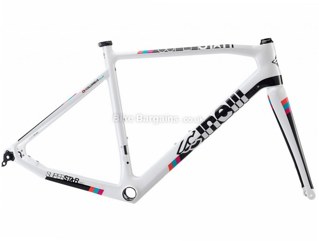 5a328bb08eb Cinelli Superstar Carbon Disc Road Frame 2018 S, White, Carbon, 970g, Disc