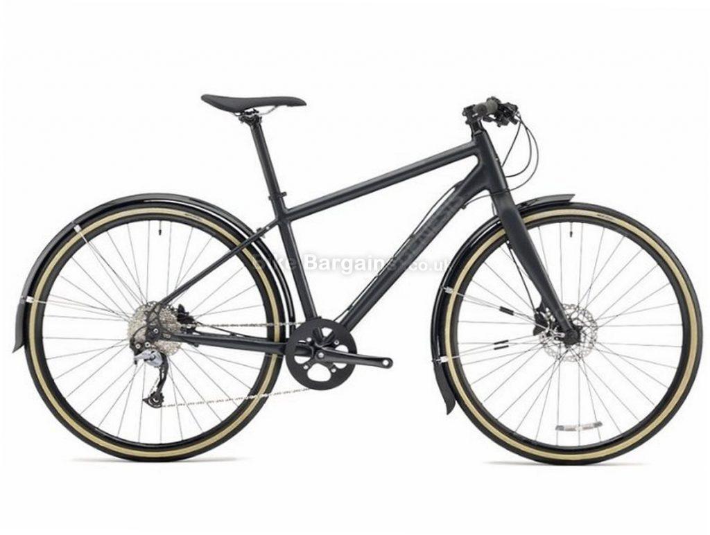 Genesis Skyline 10 City Disc Acera Alloy Hybrid City Bike 2018 XS, Black, 9 Speed, Alloy, 11.86kg