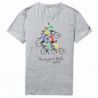 Le Coq Sportif Tour de France Fanwear No. 5 Casual T-Shirt 2017