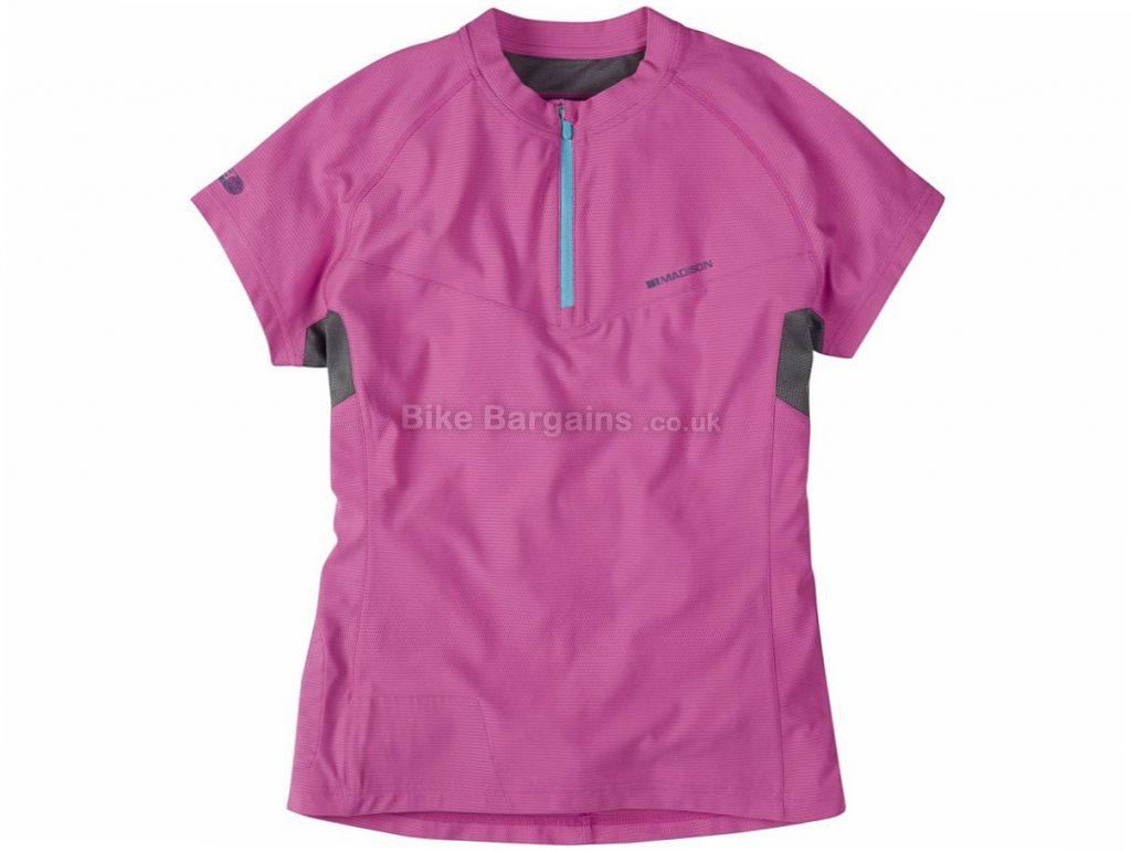 Madison Zena Ladies Short Sleeve Jersey 2016 10, Yellow