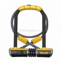 OnGuard Bulldog 230mm Combination D Lock with Cable