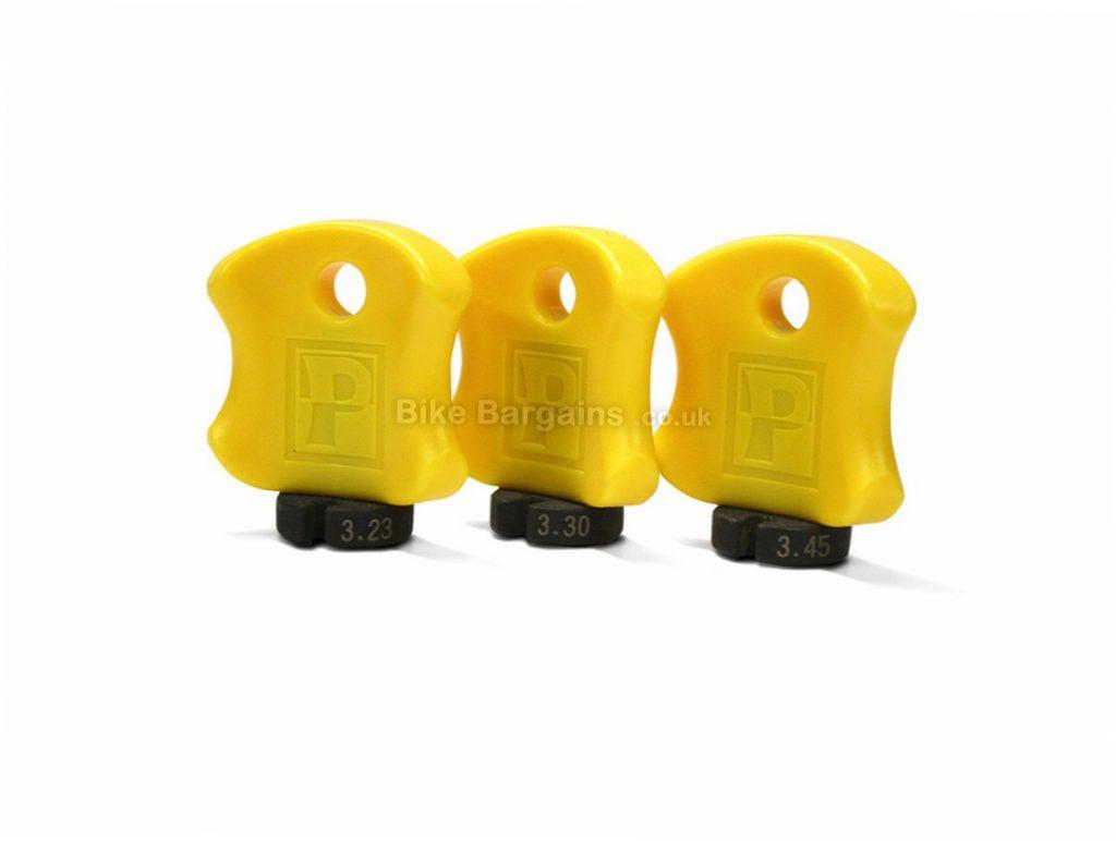 Pedros Pro Spoke Wrench Set 3.2mm,3.3mm,3.45mm, Yellow, Black
