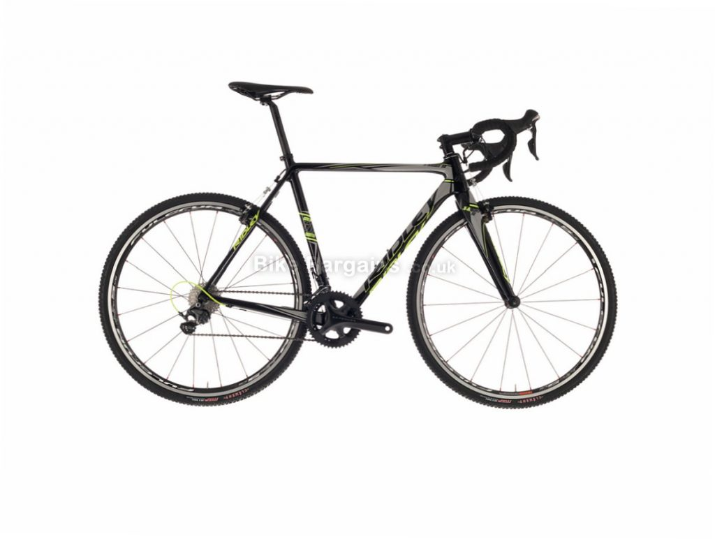 Ridley X Night SL Canti Ultegra Carbon Cyclocross Bike 2017 52cm, Black, Grey, 700c, Carbon, 11 Speed
