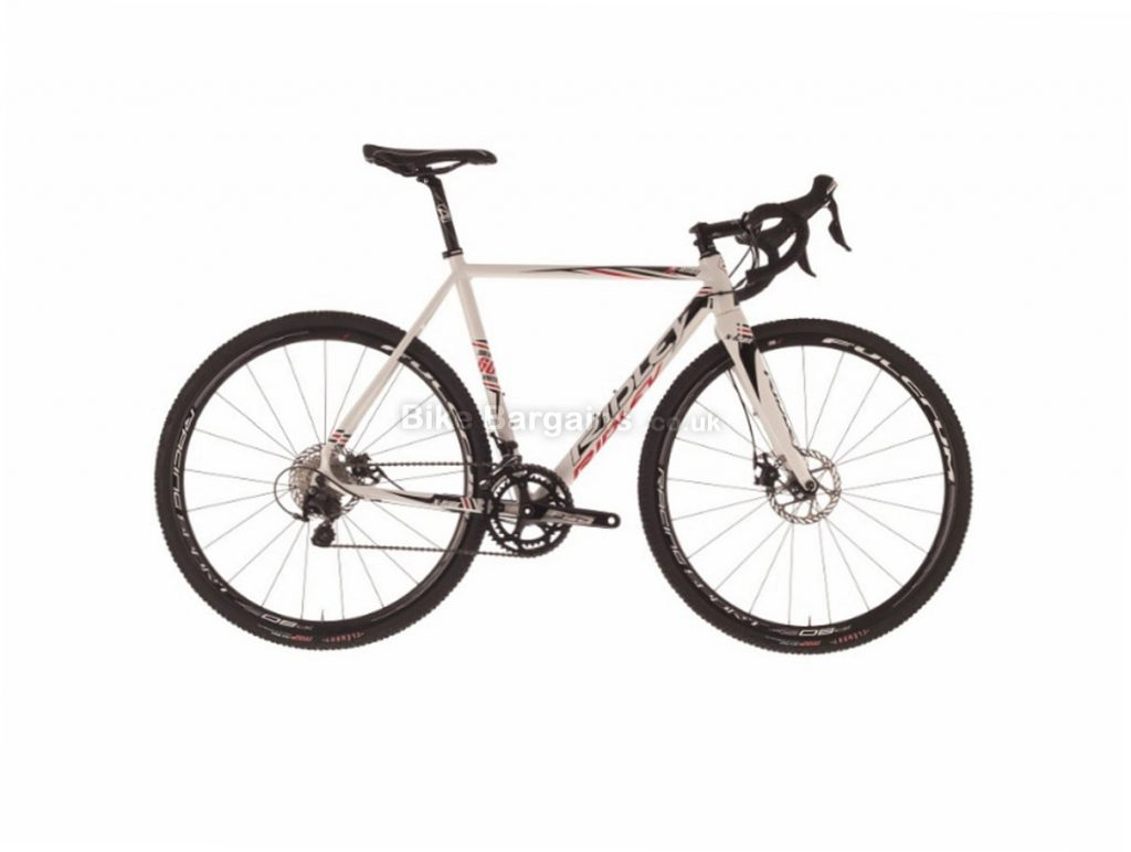 Ridley X Ride 105 Disc Alloy Cyclocross Bike 2016 52cm, White, Black, Red, 700c, Alloy, 11 Speed