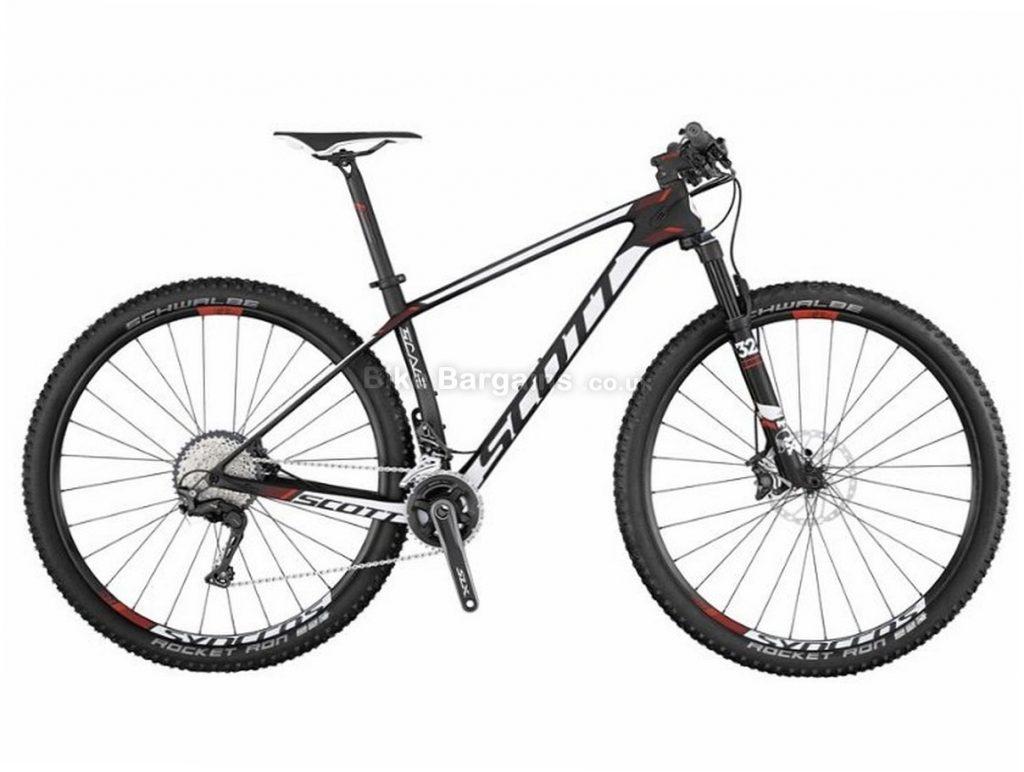 "Scott Scale 720 27.5"" SLX Carbon Hardtail Mountain Bike 2017 M, Black, White, Red, 27.5"", Carbon, 11 Speed, 10.5kg"