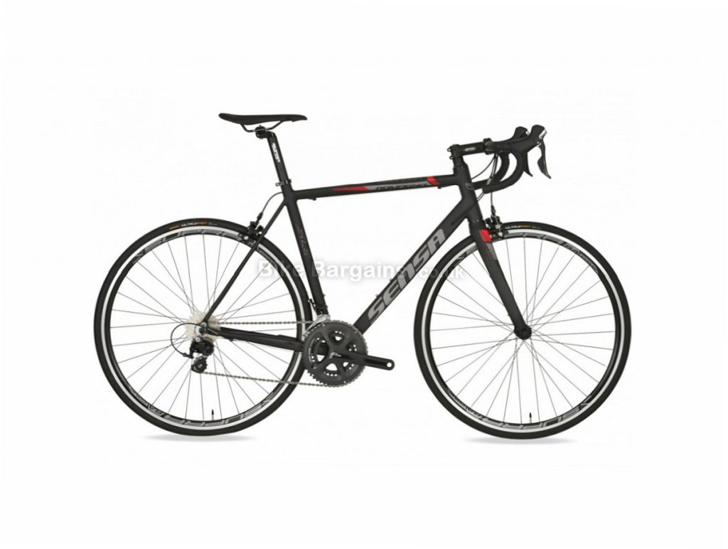 Sensa Romagna SLE Ltd 105 Alloy Road Bike 2018 49cm, Black, Grey, Alloy, 11 speed, Calipers, 700c, 9.4kg