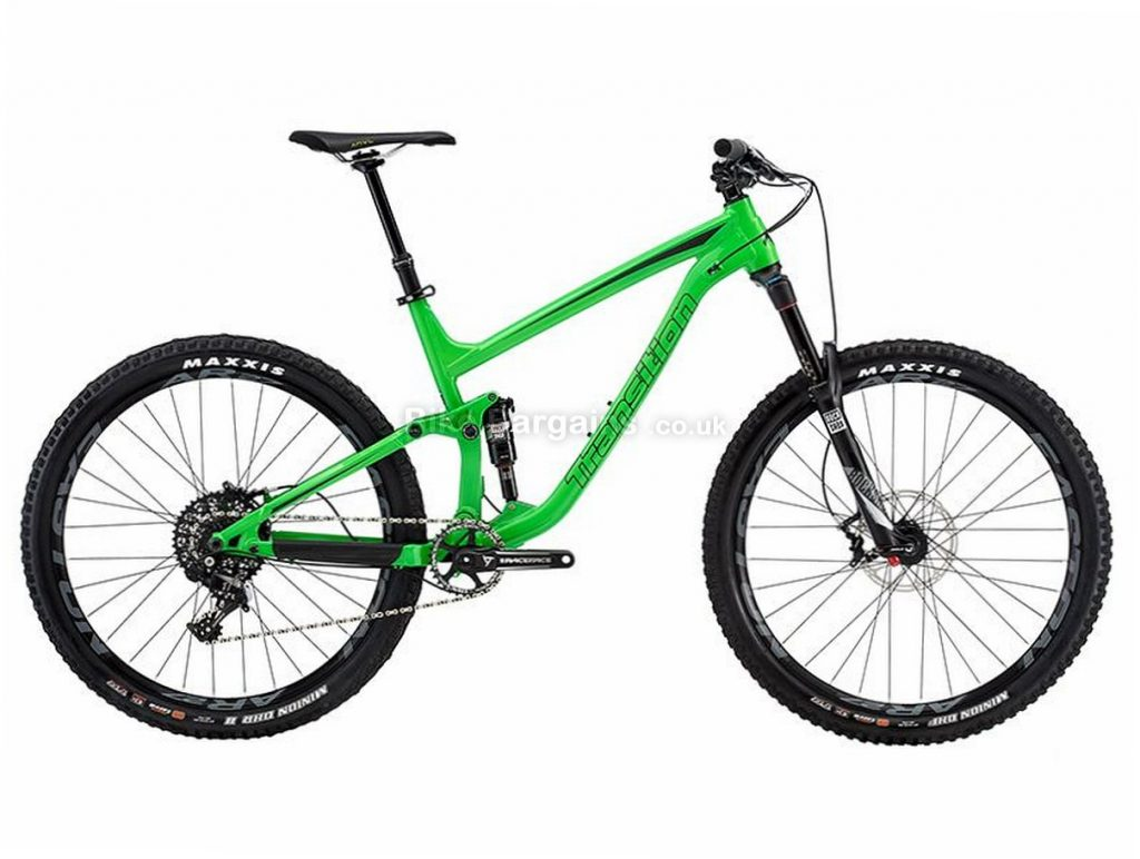 """Transition Scout Kit 2 27.5"""" X1 Alloy Full Suspension Mountain Bike 2016 L, Green, Black, 27.5"""", Alloy, 11 Speed"""