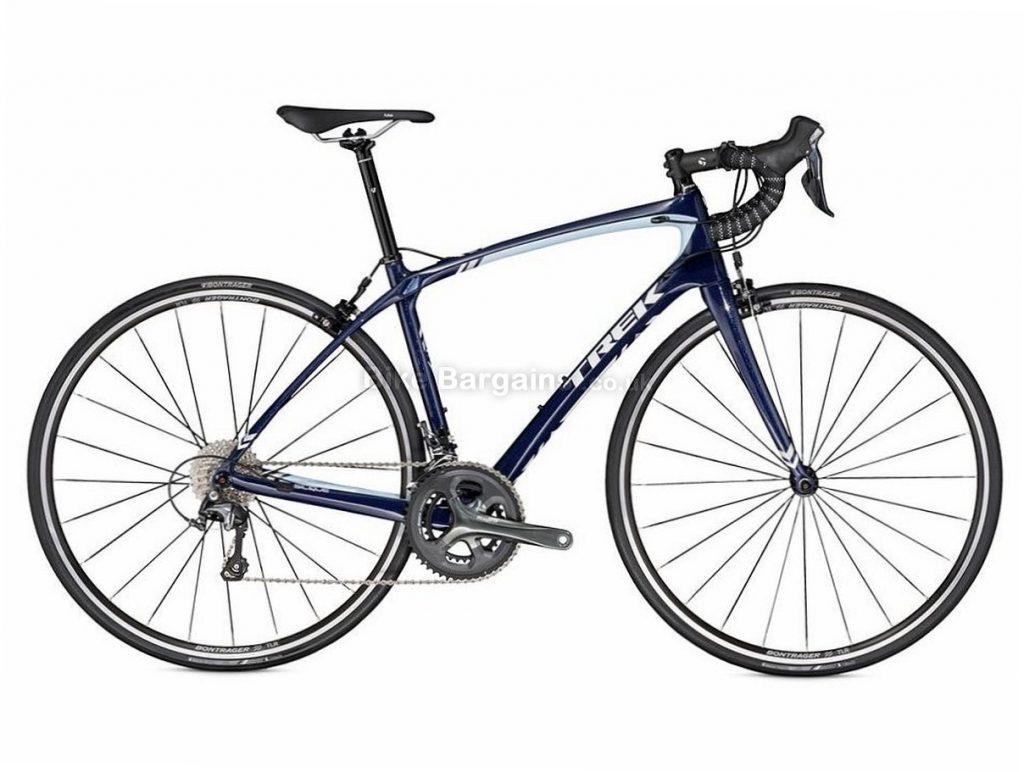 Trek Silque Tiagra Ladies Carbon Road Bike 2016 50cm, Blue, Carbon, Calipers, 10 speed, 700c