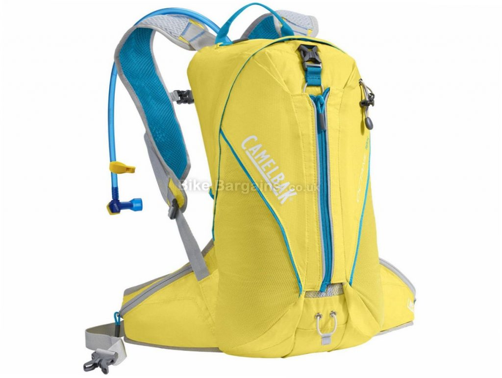 Camelbak Octane 18X 3 Litre Hydration Pack 2016 Yellow, Blue, 18 Litres, 3 Litres Bladder, 507g