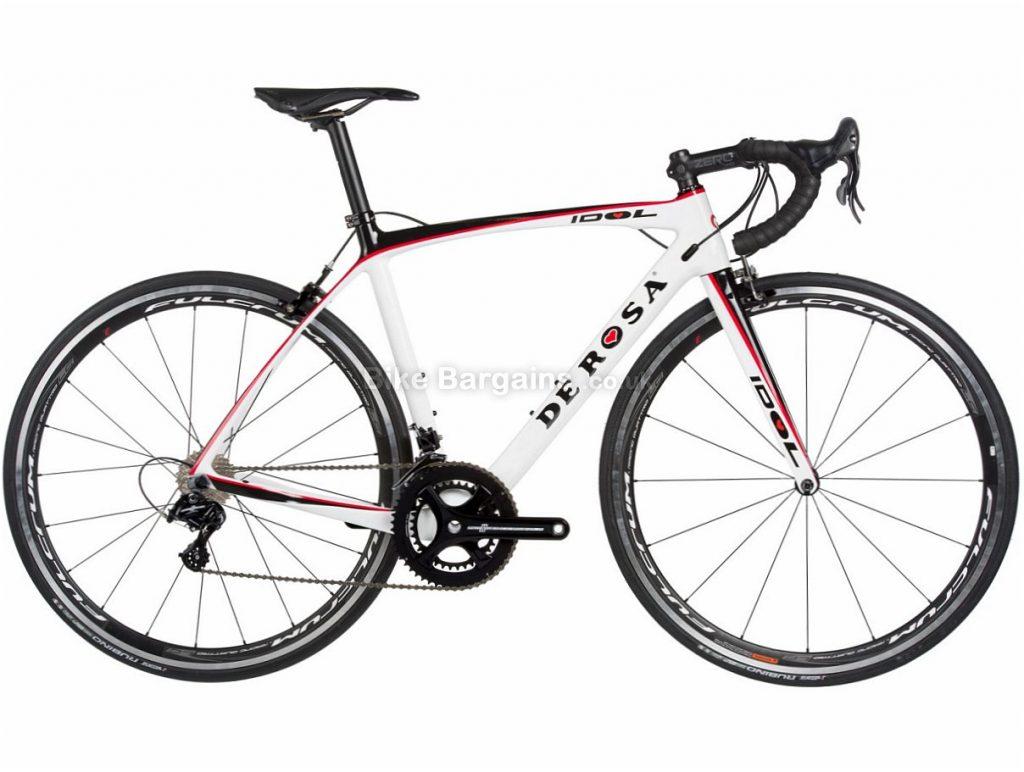 De Rosa Idol Potenza Carbon Road Bike 2018 47cm, Black, White, Carbon, Calipers, 11 speed, 700c