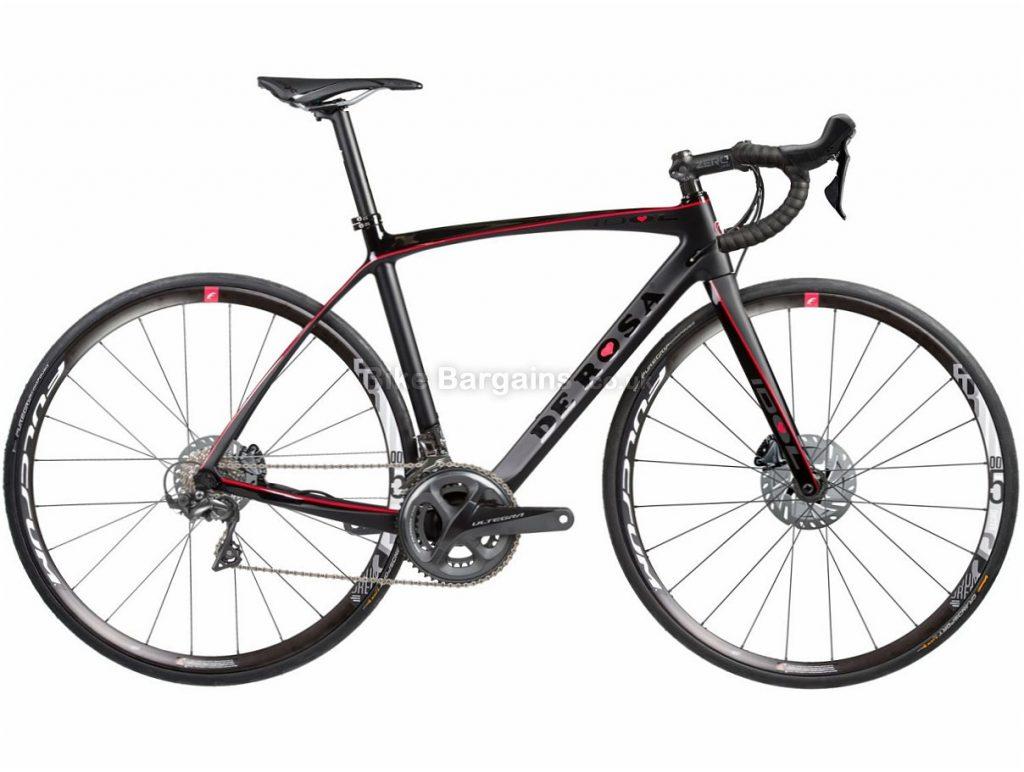 31d6a7f4d3c De Rosa Idol Disc Ultegra Carbon Road Bike 2018 59cm, Black, Blue, Carbon