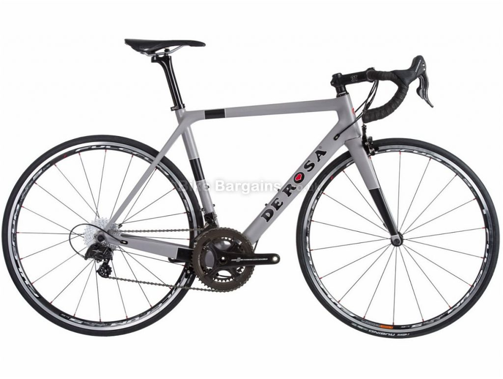 De Rosa King XS Chorus Carbon Road Bike 2018 47cm,49cm,51cm,53cm,55cm,57cm, Grey, Carbon, Calipers, 11 speed, 700c