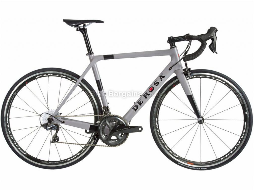 De Rosa King XS Ultegra Carbon Road Bike 2018 47cm,53cm,55cm,57cm, Grey, Carbon, Calipers, 11 speed, 700c