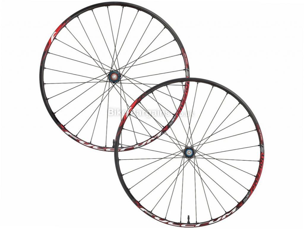 "Fulcrum Red Passion 3 27.5"" 6-Bolt MTB Wheels 2016 27.5"", Black, 6 bolt, 1.5kg, Disc, 9/10/11 Speed"