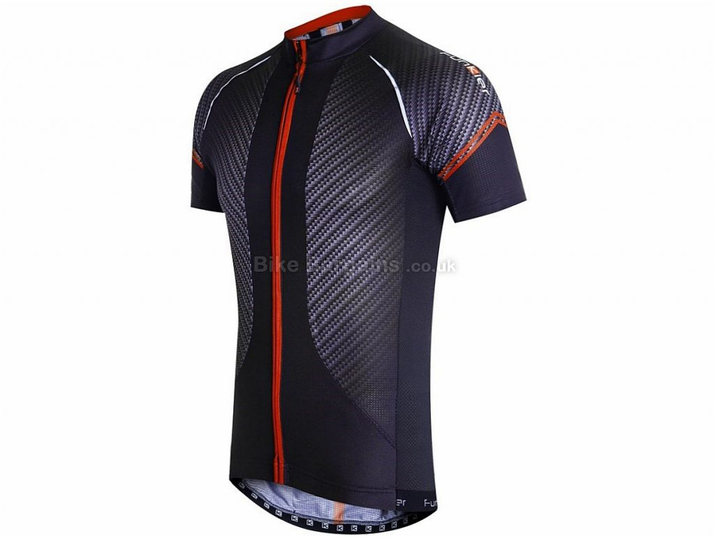 Funkier Airlite Short Sleeve Jersey 2016 S, Black, Red, Yellow