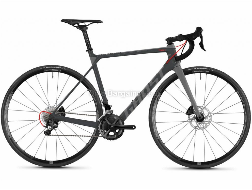 Ghost Nivolet X5.8 Disc 105 Carbon Road Bike 2018 51cm, Grey, Carbon, Disc, 11 speed, 700c