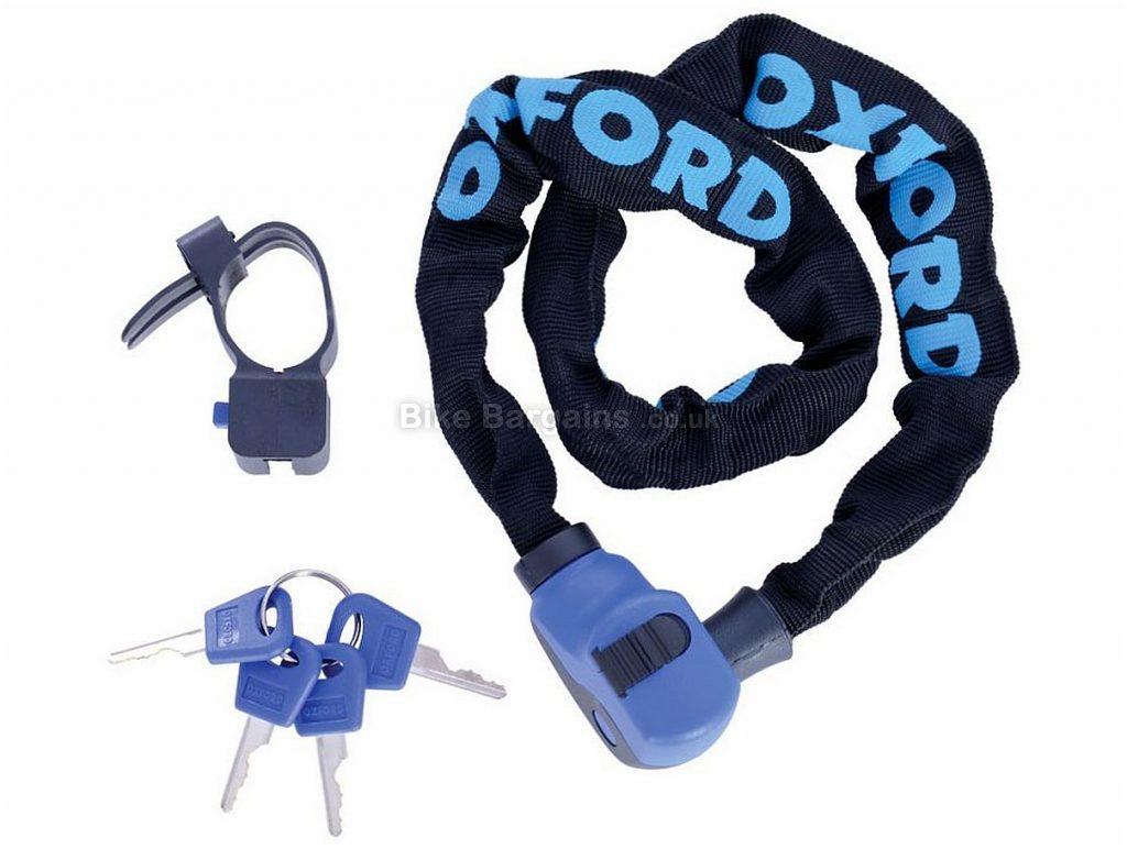 Oxford Hercules Chain Lock Black, 6mm, 90cm, 800g