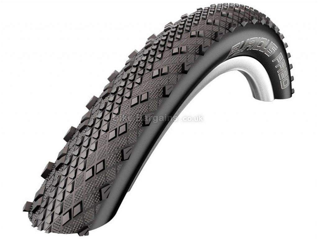 """Schwalbe Furious Fred Evolution Kevlar MTB Tyre Black, 29"""", 2.0"""", 360g, folding"""