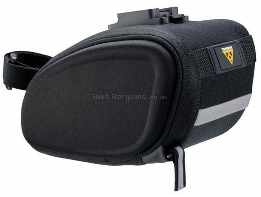 Topeak Wedge SideKick Saddle Bag S, Black, 0.5 Litres, 0.7 Litres,14cm by 11cm by 9.5cm, 110g or 190g for Medium