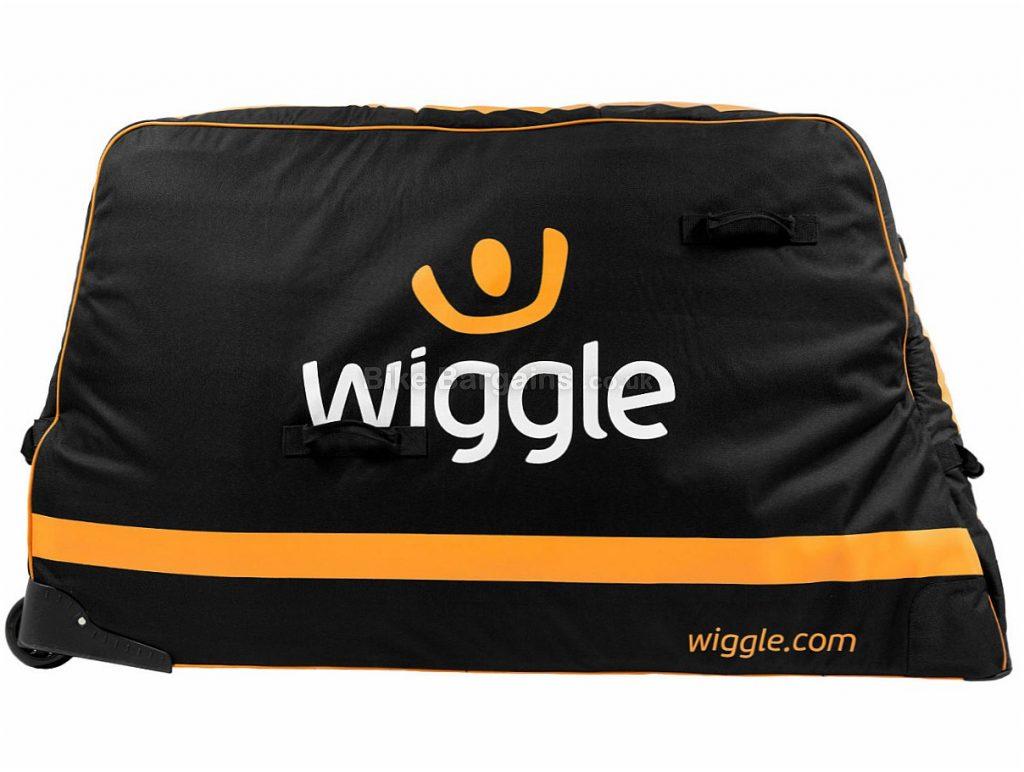 Wiggle Pro Bike Travel Bag Black, 8.8kg, 140cm by 28cm by 79cm