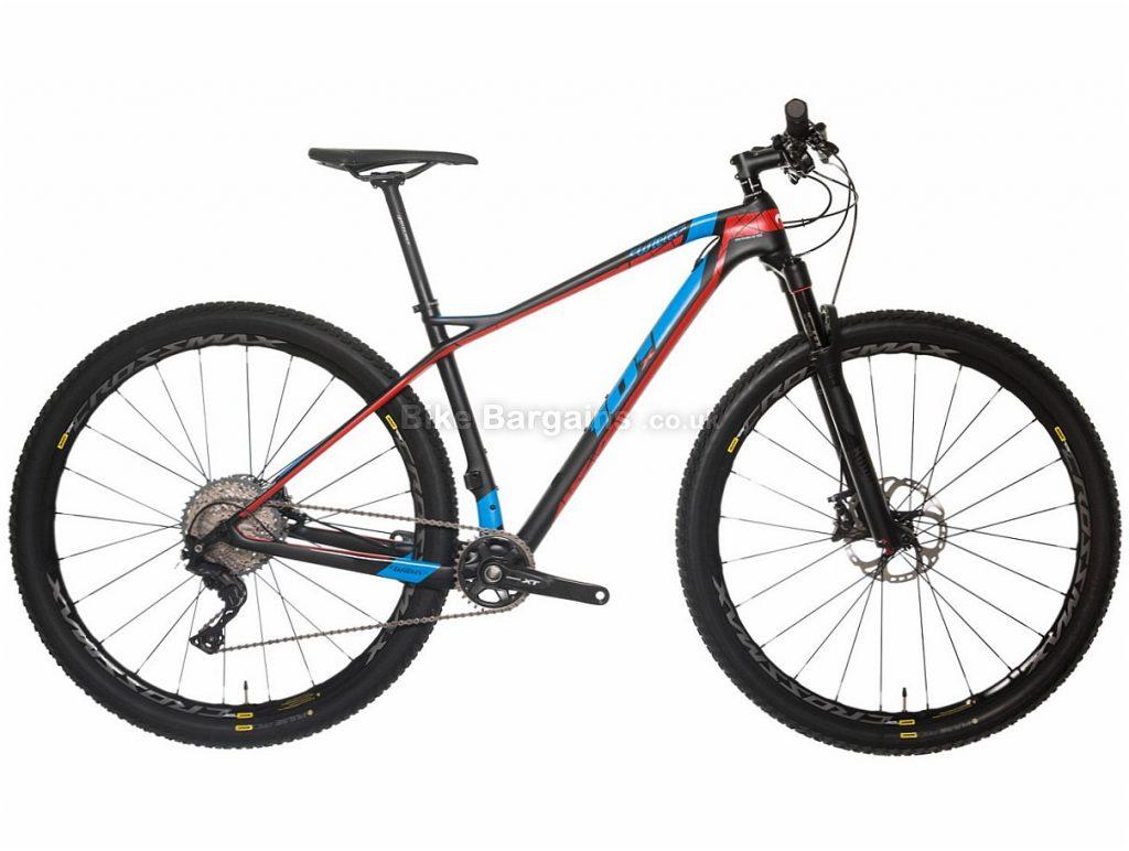 "Wilier 101X XT 29"" Carbon Hardtail Mountain Bike 2018 M, Black, Red, Blue, 29"", Carbon, 11 speed, 9.95kg"