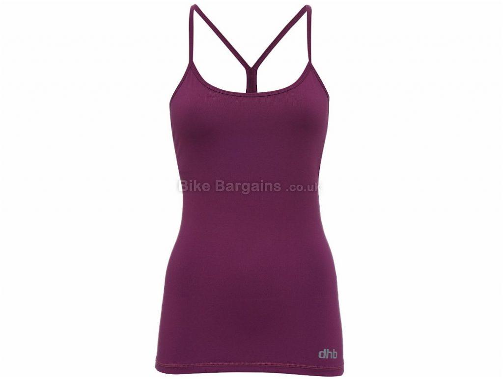 dhb Ladies Training Cami Jersey 8,10,12,14,16, Blue, Black, Purple