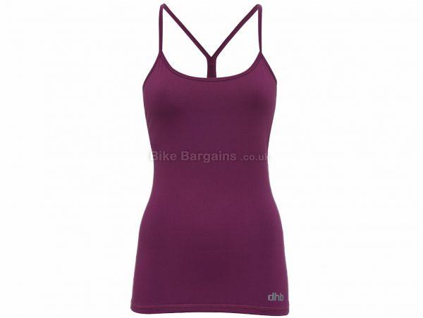 dhb Ladies Training Cami Jersey 12, Blue, Black, Purple