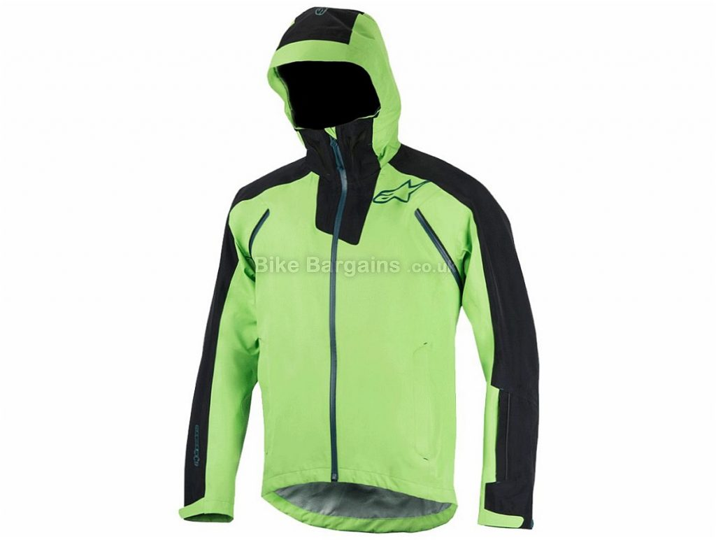 Alpinestars All Mountain 2 Waterproof Jacket 2017 S,M, Green, Black, Long Sleeve