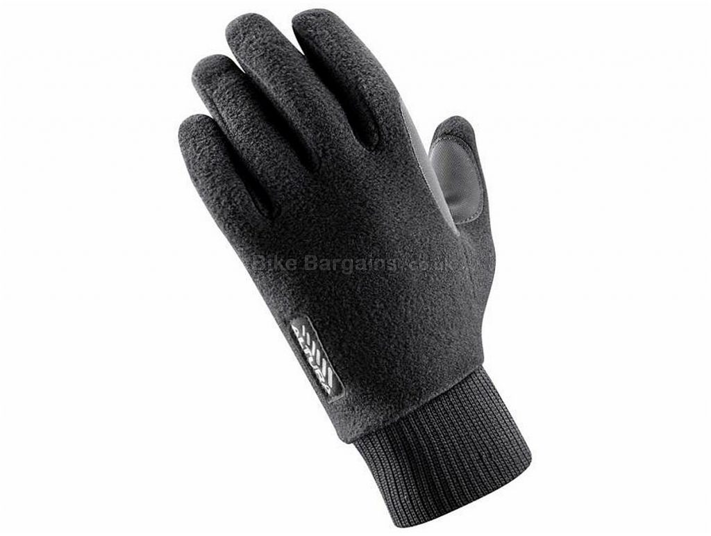 Altura Ladies Micro Fleece Windproof Full Finger Gloves L, Black, Full Finger, Fleece