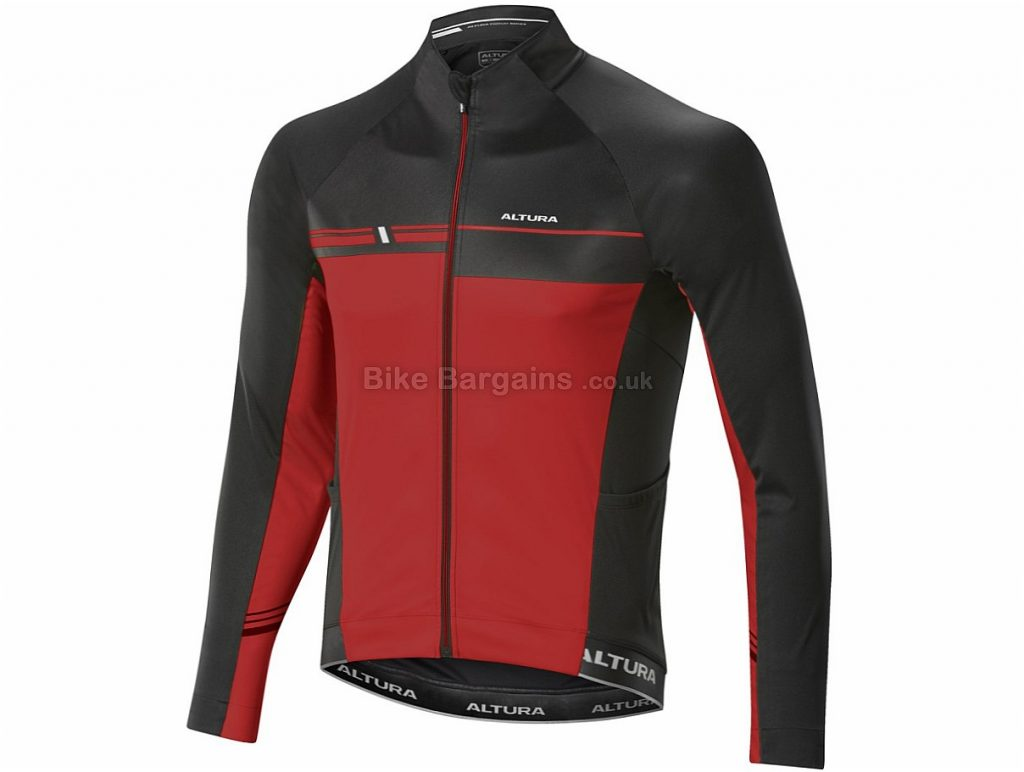 Altura Podium Elite Thermo Long Sleeve Jersey 2017 M, Black, Red, Yellow, Long Sleeve