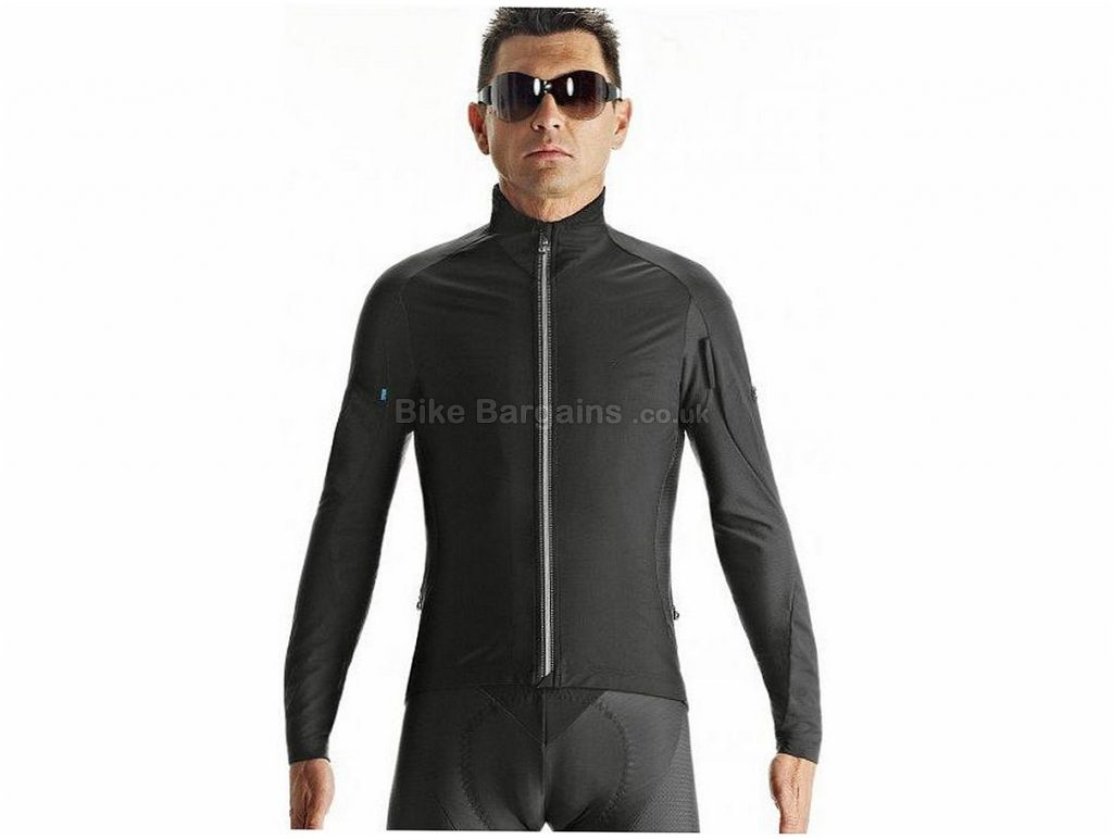 Assos iJ.haBu5 Windproof Jacket 2017 S, Black, Red, Long Sleeve