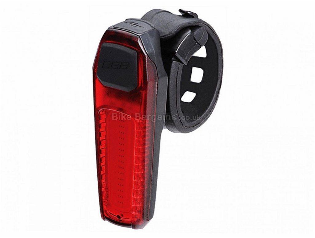 BBB Signal Mini Rechargeable USB Rear Light Black, USB rechargeable, rear, 30g, 70mm, 24mm, 16mm