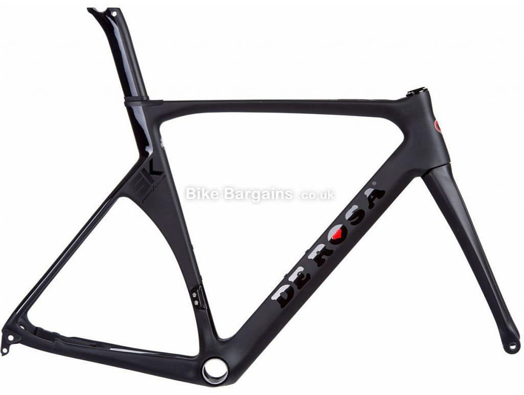 De Rosa SK Disc Pininfarina Carbon Road Frame 2018 54cm, Black, Carbon, 1620g inc forks, Disc Brake