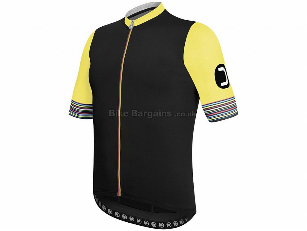 Dotout Hybrid Short Sleeve Jersey 2018 S, Black, Blue, Short Sleeve