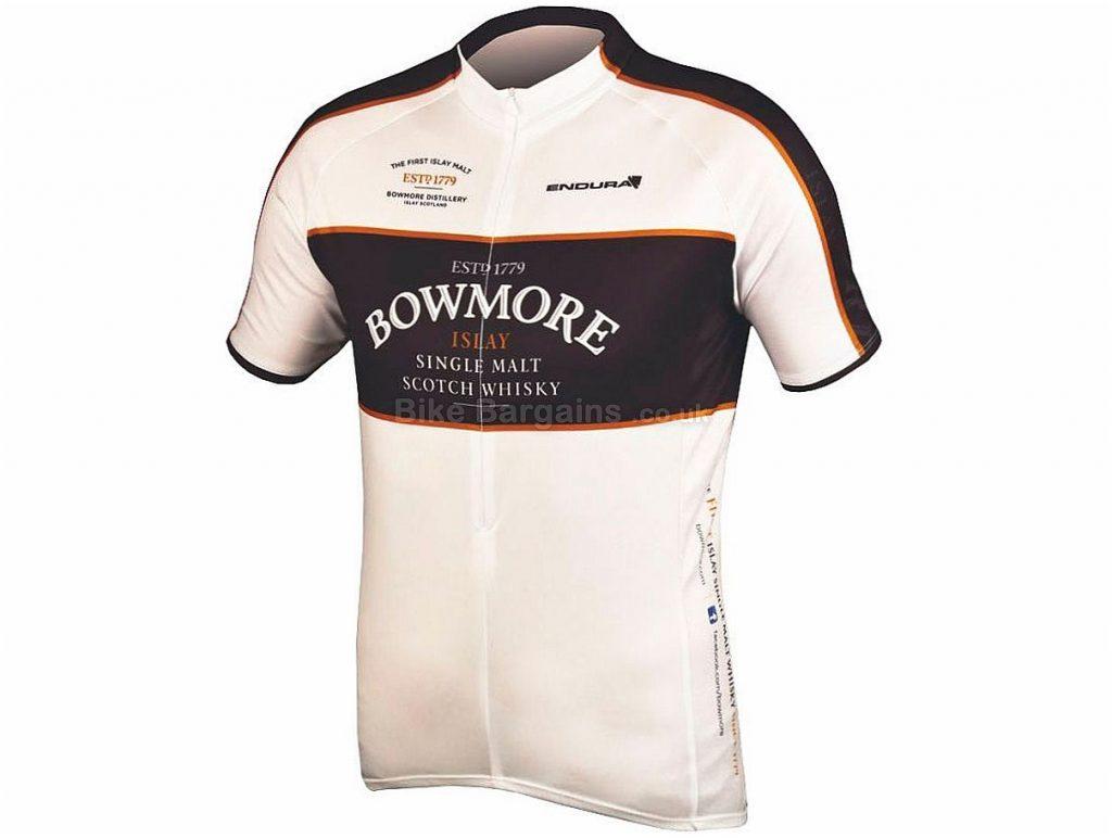 Endura Bowmore Whiskey Short Sleeve Jersey 2017 M,L, White, Short Sleeve